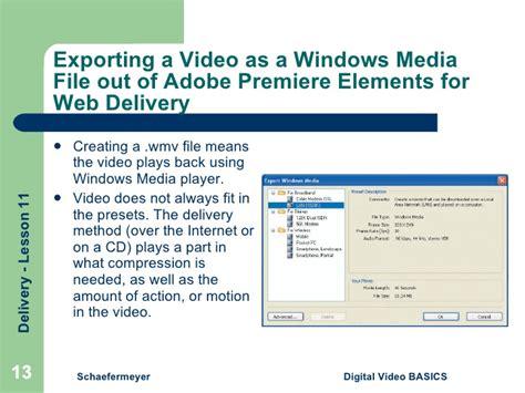 export adobe premiere elements 11 unit 3 lesson 11