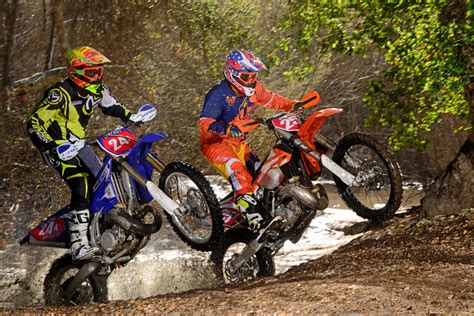 off road motocross bikes for off road 2 stroke shootout dirt bike magazine