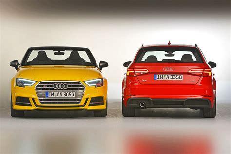 Audi A4 Modellwechsel by Audi A3 Facelift 8v Im Test Sitzprobe Bilder