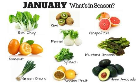 vegetables in season in january the ultimate guide to buying fruits and vegetables in