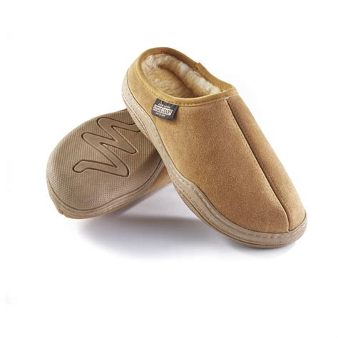 clog slippers guide gear s suede clog slippers 77187 slippers at
