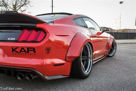 widebody mustang ford mustang gt gets widebody treatment