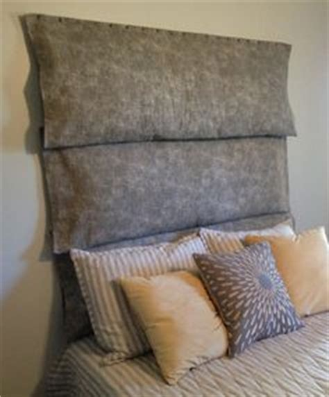 diy plush headboard 1000 images about diy decorating on pinterest pillow