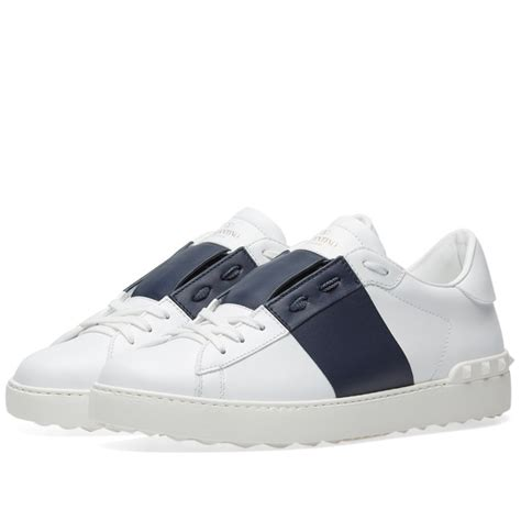 10 Best Valentino Shoes by Valentino Open Low Top Sneaker White Marine End