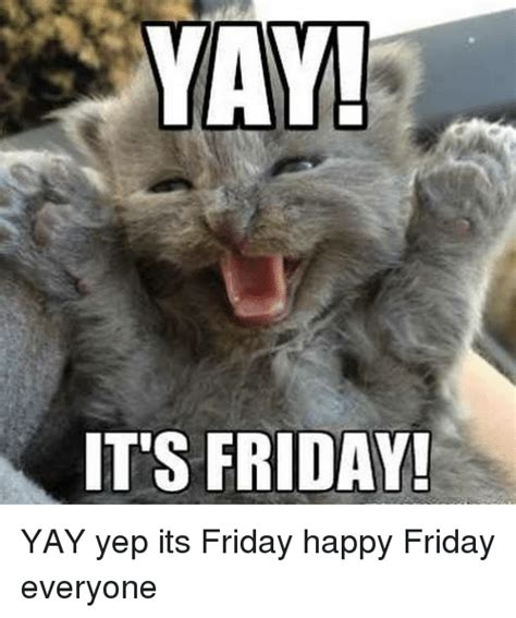 Yay Meme - 25 best memes about yay its friday yay its friday memes
