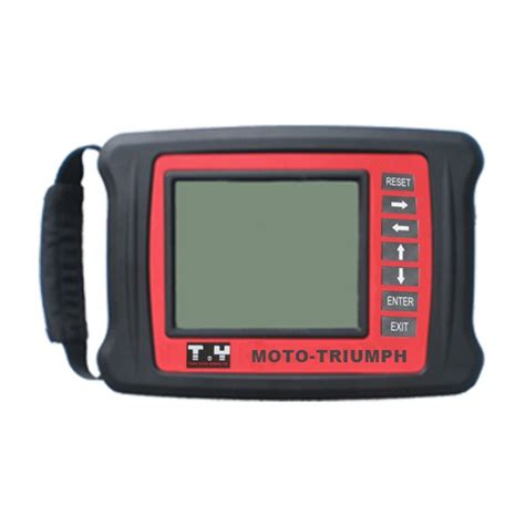 Motor Cycle Diagnostic Scanner Tools moto triumph motorcycle scanner