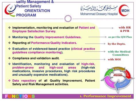 induction orientation program orientation and safety induction programme 28 images quality management orientation program