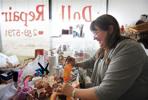 porcelain doll repair shop when it comes to doll repair hohne does it all