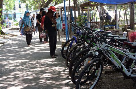 Kaos Ikan Dan Sepeda 2 merengkuh ketenangan di pulau panjang jepara nasirullah