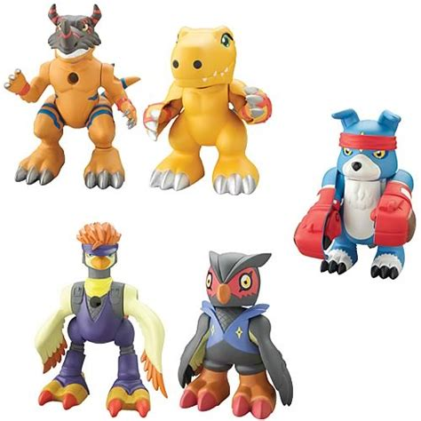 Digimon Digmon Digivolution Figure Kw digimon lightning digivolving 2 pack wave 3 figure bandai digimon figures at