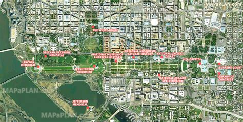 best satellite maps maps update 700495 washington dc tourist map printable