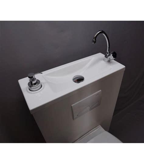 Merveilleux Lave Main Avec Meuble Ikea #7: Wc-suspendu-avec-lave-mains-integre-wici-bati.jpg