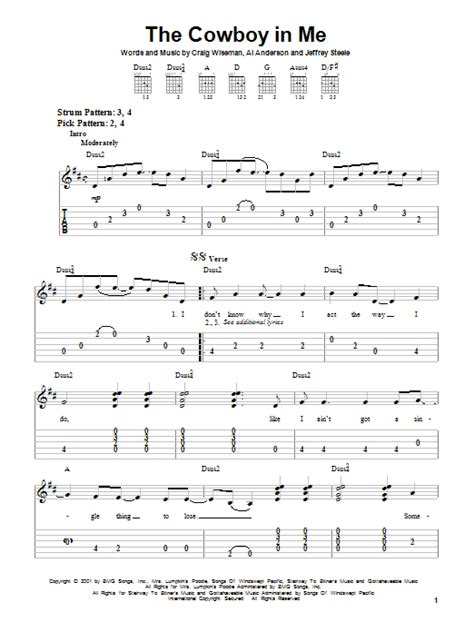 buy me a boat chords cowboy lyrics the cowboy in me by tim mcgraw easy guitar tab guitar