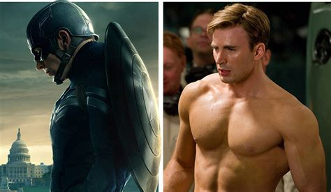 big ripped actors how does chris evans get his captain america body fan