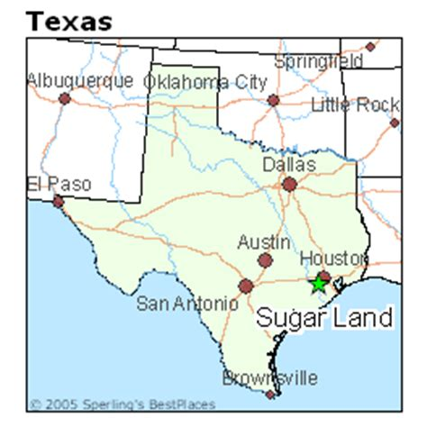 texas land map best places to live in sugar land texas