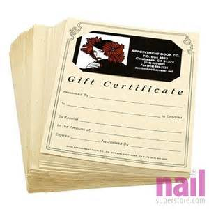 custom business gift certificates custom business card gift certificate