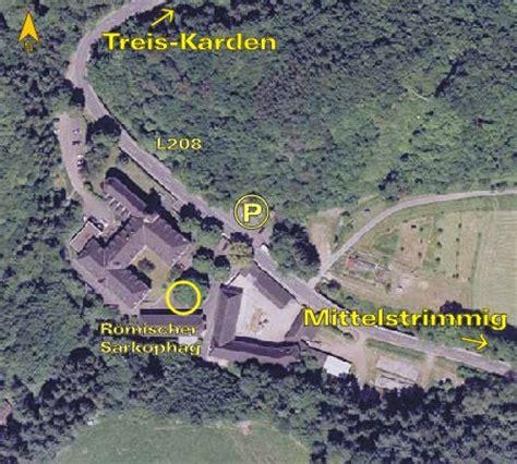 Luftbild Treis Karden Kloster Engelport Position Römischer