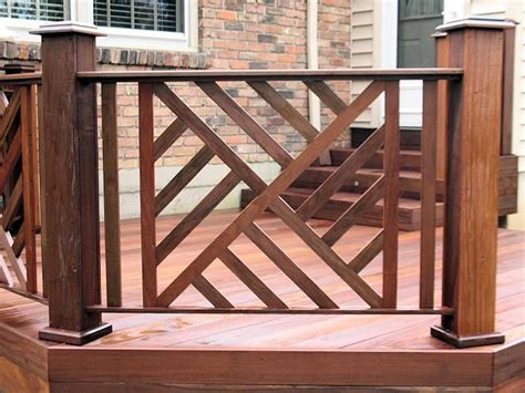 deck railing design ideas  pinterest railings