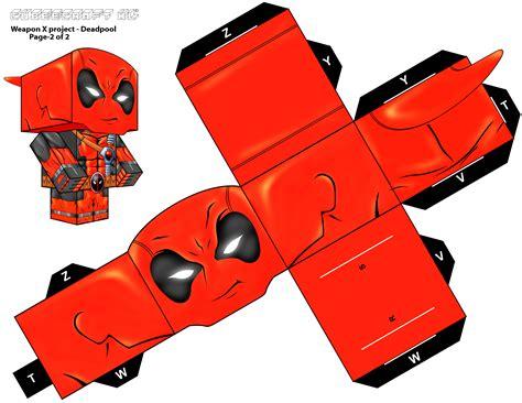 Deadpool Papercraft - deadpool cubeecraft xl pg 2 by randyfivesix on deviantart