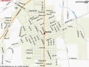 map marshall marshall il