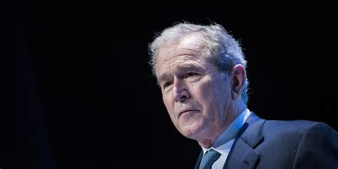 george bush george w bush once got yelled at by dying soldier s huffpost