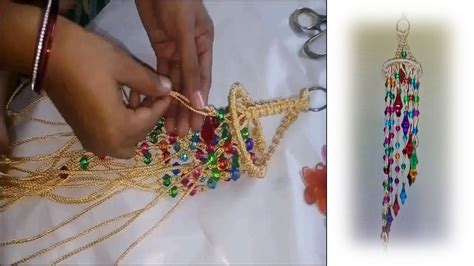 How Do You Macrame - how to make jhumar at home with macrame beautiful design