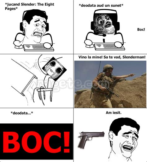 Meme Pages - slender the eight pages rage comics romania