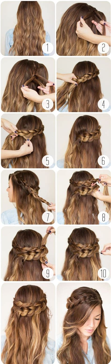 cool braided hairstyles step by step 20 cute and easy braided hairstyle tutorials latest styles