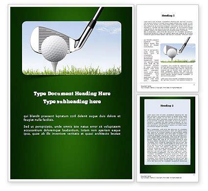 golf tournament word template 11259 poweredtemplate com