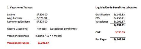 como hago para calcular la liquidacion de mi fideicomiso liquidaci 243 n de beneficios sociales a trabajadores