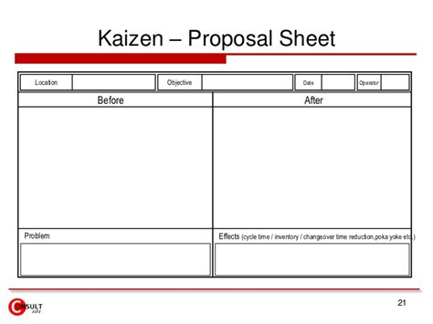 Newspaper Report Format Exle kaizen forms checklists