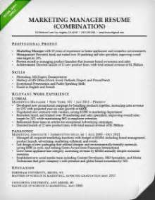 Sample Resume For Experienced Marketing Professional