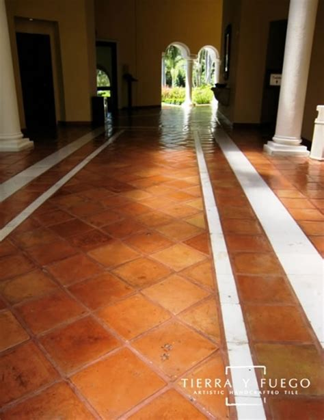unsealed regular saltillo square edges floor