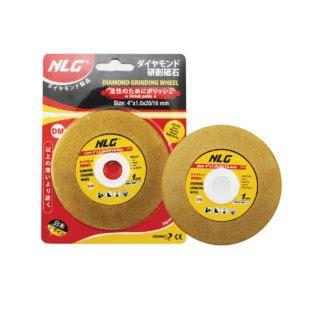 Mata Gurinda Poles Nippon nlg type wheel pisau potong marmer granit 4 quot yellow niagamas lestari gemilang