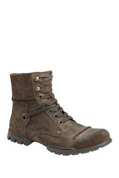 Kickers Boots Limited Edition 611 Brown mens casual boots in black leather meldon from clarks shoes fashion