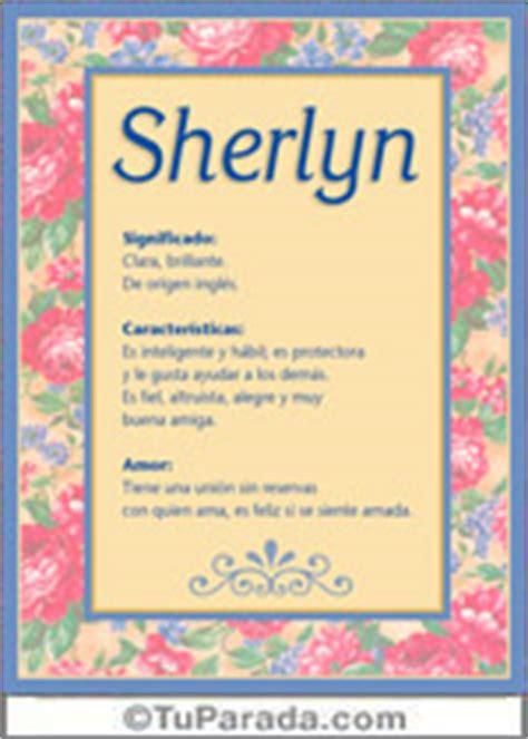 imagenes bellas q tengan nombre daisy sherlyn significado del nombre sherlyn nombres