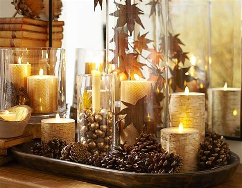 How To Decorate Candles At Home 3 Tips For Affordable Seasonal Decor Fall Winter Edition Something