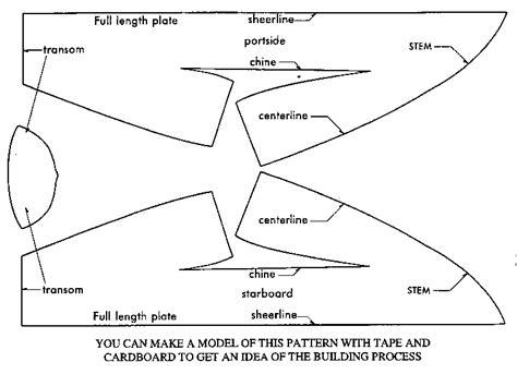 Origami Boat Template - more diy folding boat plans canoe sailing plan
