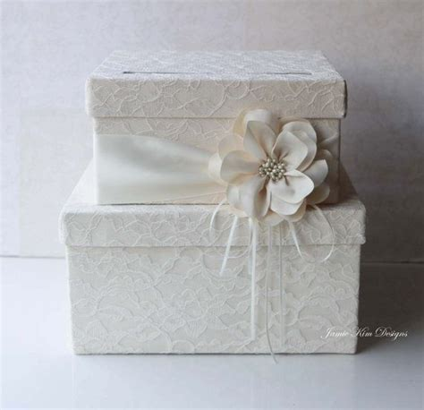 Wedding Gift Box For Cards - wedding card box wedding money box gift card box custom made wedding gift cards