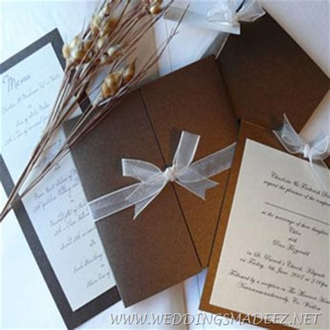 Handmade Wedding Invitation Ideas - wedding invitations how to make weddings made