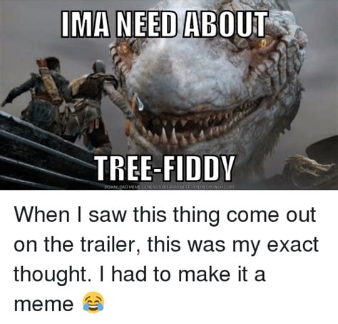 Tree Fiddy Meme - ima need about tree fiddy download meme generator from