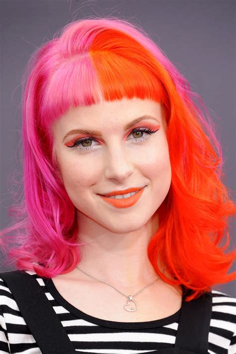 hayley williams hair color our favourite manic panic hair colours manic