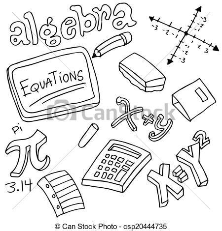 imagenes de objetos a blanco y negro vectores de s 237 mbolos objetos 225 lgebra un imagen de