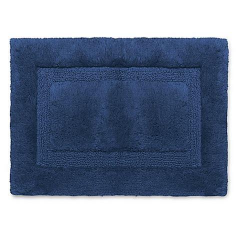 wamsutta rugs buy wamsutta 174 luxury 17 inch x 24 inch border plush microcotton bath rug in midnight from bed