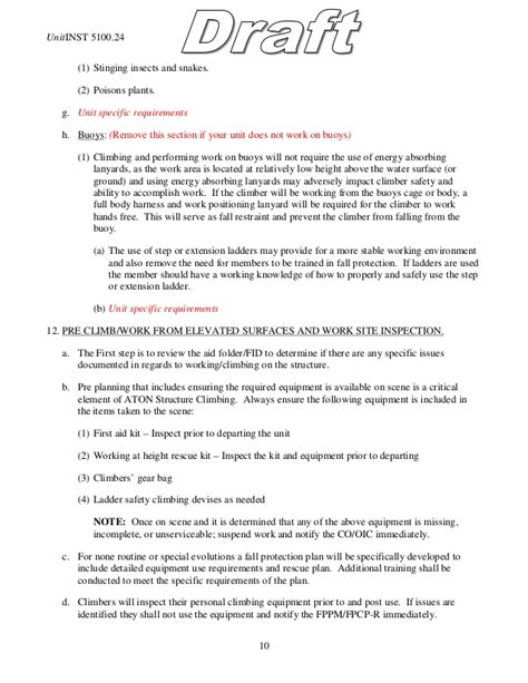 Fall Protection Plan Exle Template Fall Protection Plan Template