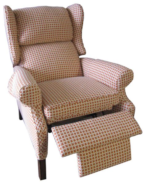 Reupholster Recliner Sofa by Reupholstered Recliner Traditional Recliner Chairs