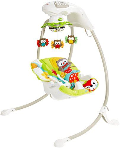 fisher price woodland swing fisher price woodland friends cradle n swing baby shop