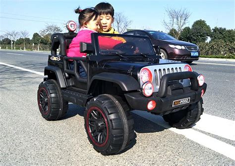 kid car jeep jeep 2 seater ride on car 12v