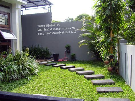 taman kolam tebing hias minimalis  rumah minimalis  jual tanaman hias