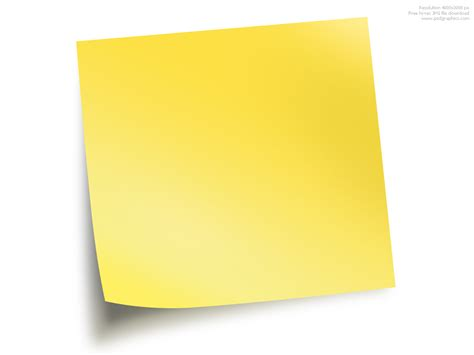 post it template sticky notes psdgraphics